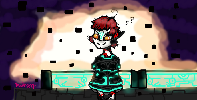cute kid Zant Colored. by SkullPapy5