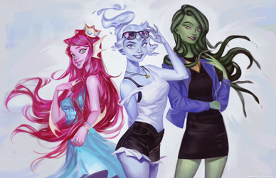 Monster Prom by mioree-art