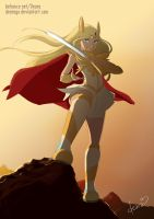 She-ra Fanart by DearaGo