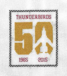 Thunderbirds 50th Anniversary Sampler by gatchacaz