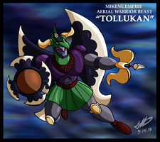 Mazinger series Mikene Empire - Tollukan by GearGades