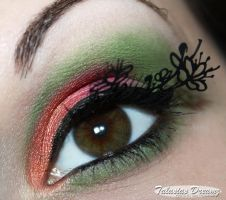 Paper Lashes for spring by Talasia85