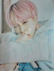 Jimin x Spring day by artisticsoul99