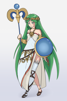 Lady Palutena (Kid Icarus) by kytobitt