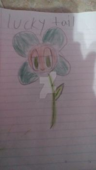 Luckytale flowey the flower by Puppylover1987
