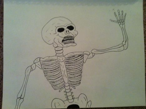 Skeleton by wbeyer