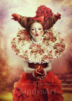 The evil witch by CindysArt