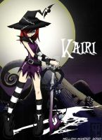 Halloween Town Kairi by mell0w-m1nded