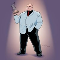 The Kingpin (Wilson Fisk) by arunion