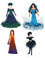 Garden of Goddesses:Costumes by elara-elara