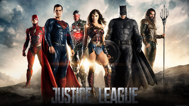 Justice League Poster Wallpaper by LamboMan7
