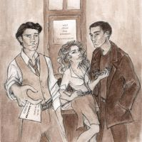 Tyler, Smith, and Harkness by oboe-wan
