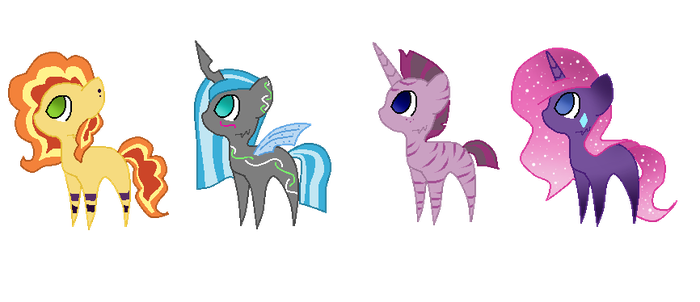 Good x Evil Adopts V CLOSED (15 points each) by iSeppe