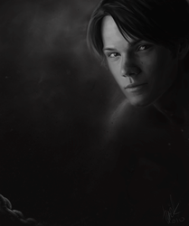 Supernatural. Young Sam. by pticha21
