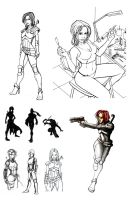 Khira Conceptual Drawings by k1lleet