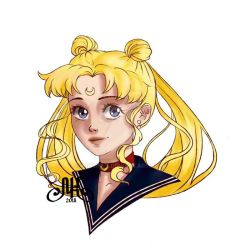 Sailor Moon by MiyuKey