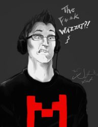 Markiplier Goof Face2 by NatBat23