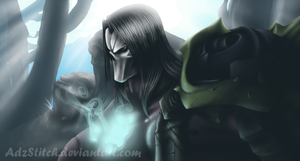 Darksiders II by AdzStitch