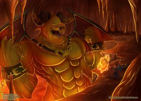 Hunting the Legendary Ifrit by ditozero21