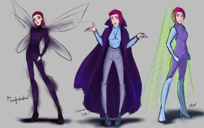 Winx X: Tecna's Designs by werunchick