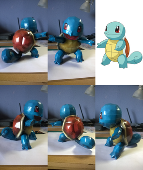 #007 Squirtle by totya0108