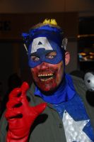 Marvel Zombies: Col. America by Leshii203