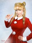 Sailor Moon Christmas Cosplay by chiquitita-cosplay