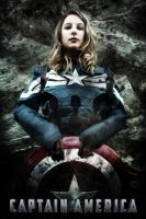 Female Capitan America Cosplay by Hamulas