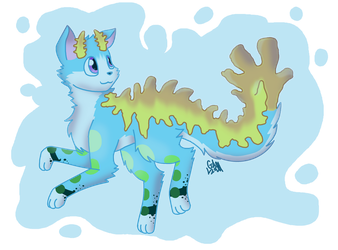DTA- Coral Cat by Gameaddict1234