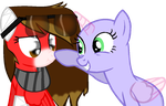 Y U poke me colloab by theshadowpony357
