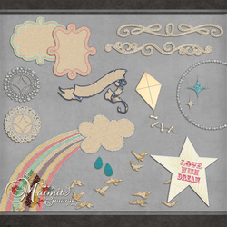 Raindrops and Rainbows by DaydreamersDesigns