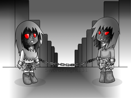 Chibi Disturbed Gimp-ifyed by SwordKnight131