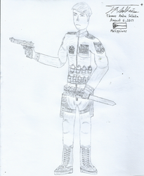 Early Character Design - PLAYER 2 by tambok0599
