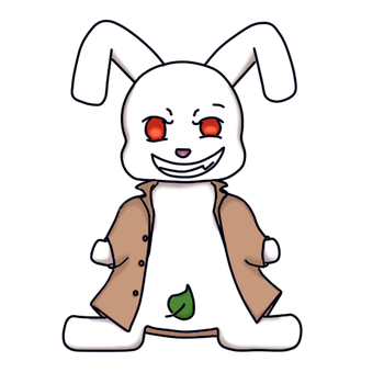Flasher Bunny by BitchinCupcake