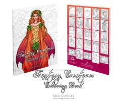 Fantasy Creatures Colouring Book by megcowley