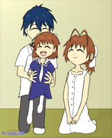 Family - Clannad AS Spoilers by Apkinesis