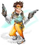 Tracer Doodle by AkajiFlare