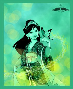 Mulan: Dreaming by FreeWingsS