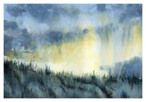 Ridgeline by SALTWatercolors