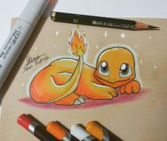 Comfy Charmander by Ppoint555