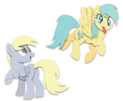 Derpy and Raindrops, Best of Friends by HiMyNameIsNickel