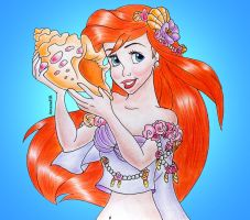 Ariel The little mermaid by Amana-HB