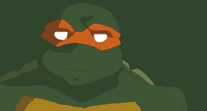 TMNT Mikey 2k3 Style by Veerz
