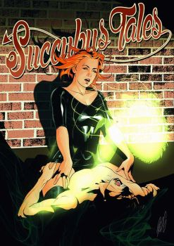 Commission: Succubus Tales Cover by redgvicente