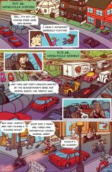 Death Valet Chapter One Page Six by A-Fox-Of-Fiction