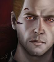 Cullen Rutherford - Red Lyrium by Teshayel