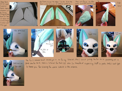Fursuit ear tutorial by wingedwolf94