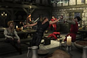 Tavern Fight. by richmel1
