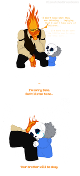 COMIC - Waiting For Papyrus by MismatchedGreenSocks