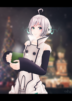 Cold day, hot coffee by Iku-P